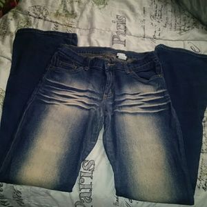 Womens blue jeans
